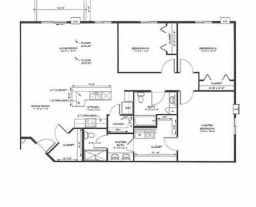 Three Bedroom Apartments